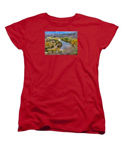 Chama River Overlook Women's T-Shirt (Standard Cut) by Alan Toepfer