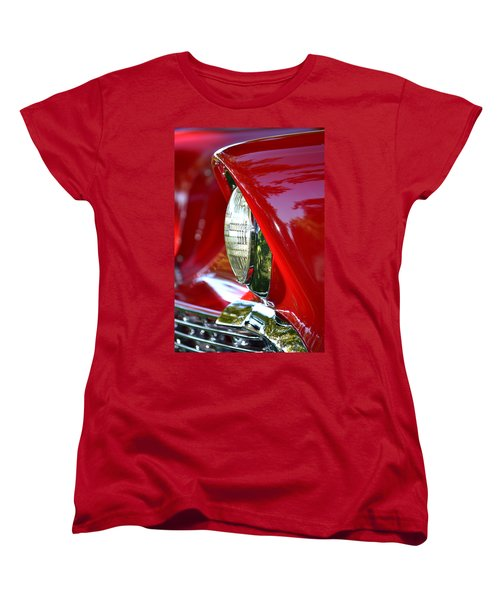 Chevy Headlight Women's T-Shirt (Standard Cut) by Dean Ferreira