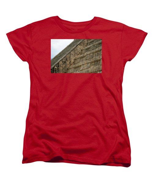 Women's T-Shirt (Standard Cut) featuring the photograph Chichen Itza by Silvia Bruno