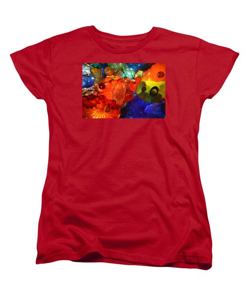 Chihuly-8 Women's T-Shirt (Standard Cut) by Dean Ferreira