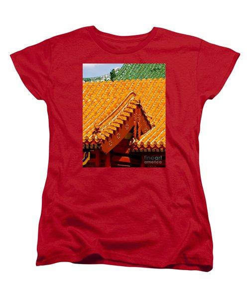 China Pavilion Women's T-Shirt (Standard Cut) by Joy Hardee