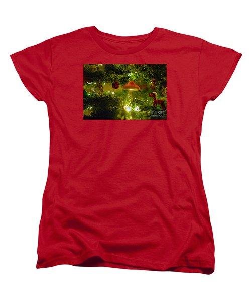 Women's T-Shirt (Standard Cut) featuring the photograph Christmas Card by Cassandra Buckley