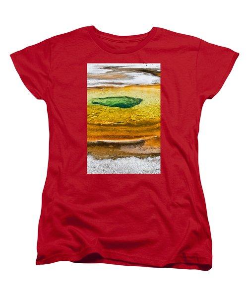 Chromatic Pool Vertical Women's T-Shirt (Standard Fit)