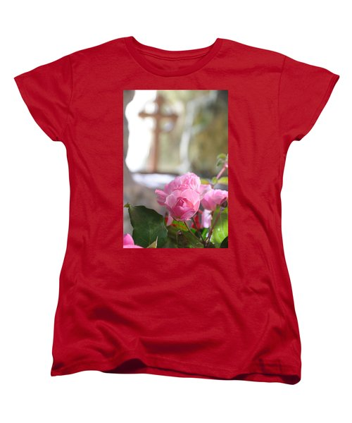 Church Flowers Women's T-Shirt (Standard Cut) by Jeremy Voisey