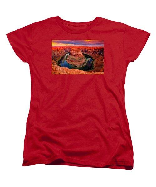 Circle Of Life Women's T-Shirt (Standard Cut) by Midori Chan