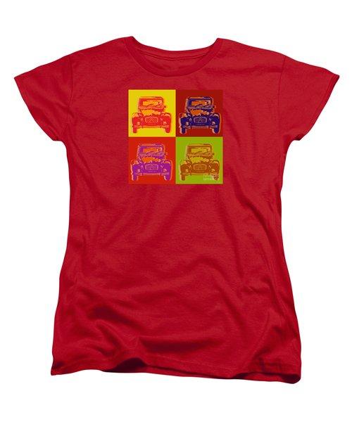 Citroen 2cv Women's T-Shirt (Standard Cut) by Jean luc Comperat
