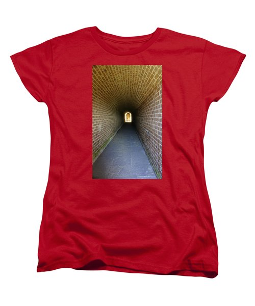 Clinch Hall Women's T-Shirt (Standard Cut) by Laurie Perry