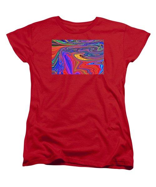 Cloister Women's T-Shirt (Standard Cut) by Nick David