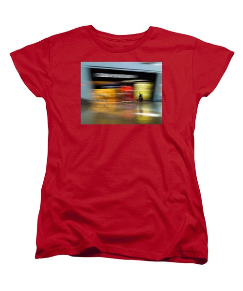 Women's T-Shirt (Standard Cut) featuring the photograph Closing In by Alex Lapidus