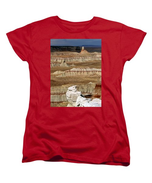 Coal Mine Mesa 19 Women's T-Shirt (Standard Cut) by Jeff Brunton