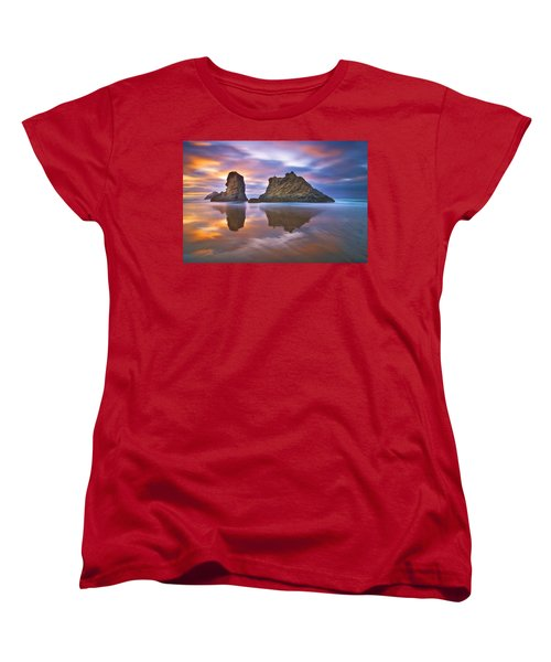 Coastal Cloud Dance Women's T-Shirt (Standard Cut)