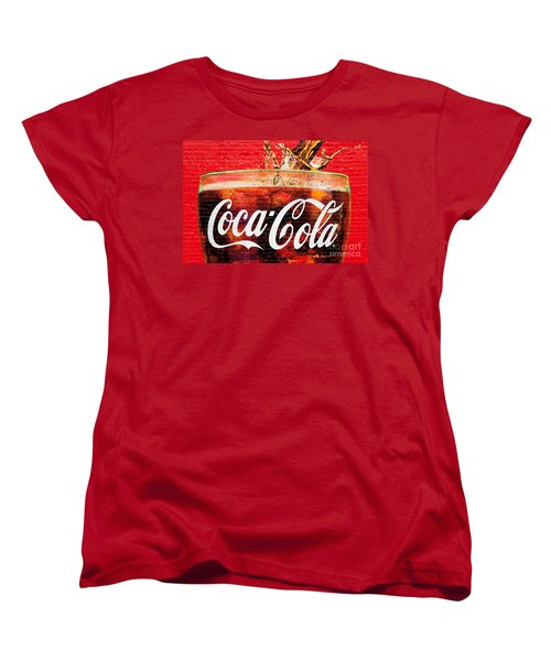 Coca Cola Women's T-Shirt (Standard Cut) by Luciano Mortula