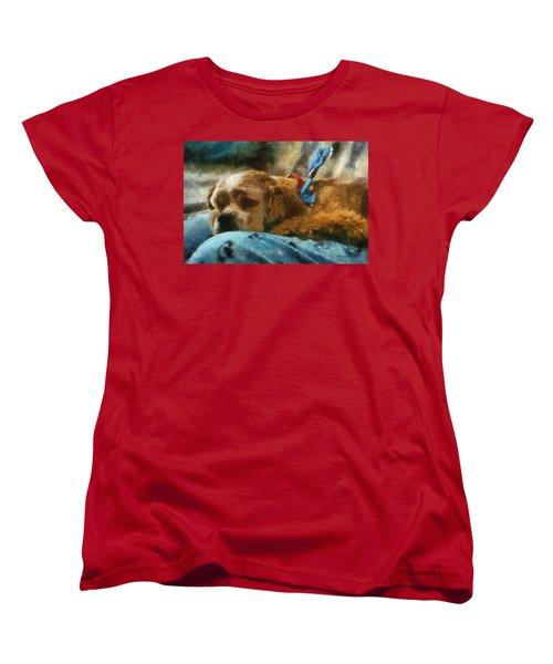 Cocker Spaniel Photo Art 07 Women's T-Shirt (Standard Cut)