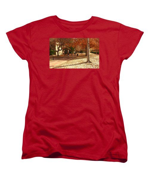 College Of William And  Mary Abstract Women's T-Shirt (Standard Cut) by Jacqueline M Lewis