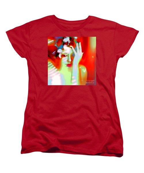 Color Me Blue Women's T-Shirt (Standard Cut) by Jessica Shelton