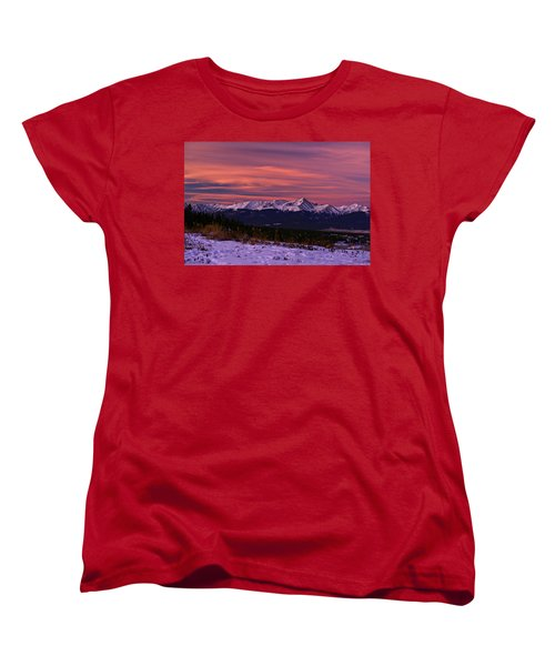 Color Of Dawn Women's T-Shirt (Standard Cut) by Jeremy Rhoades