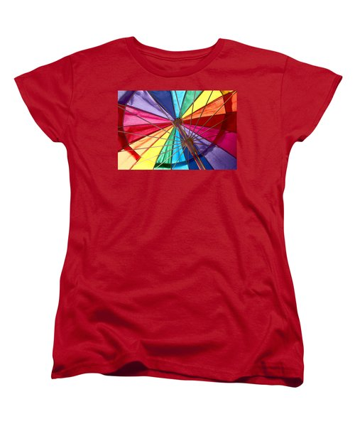 Colors Of Summer Women's T-Shirt (Standard Cut)