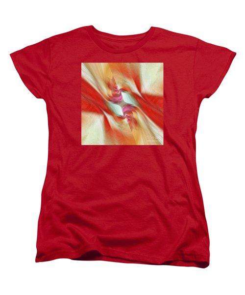 Women's T-Shirt (Standard Cut) featuring the digital art Comfort by Margie Chapman