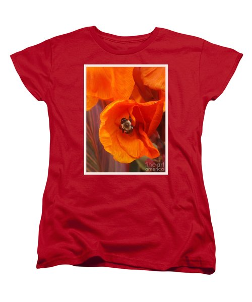 Complimenting One Another Women's T-Shirt (Standard Cut) by Sara  Raber