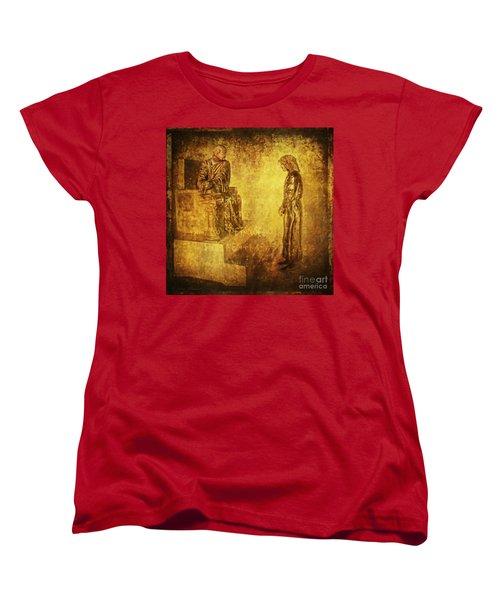 Condemned Via Dolorosa1 Women's T-Shirt (Standard Cut) by Lianne Schneider