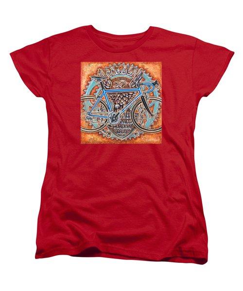 Women's T-Shirt (Standard Cut) featuring the painting Condor Baracchi by Mark Howard Jones
