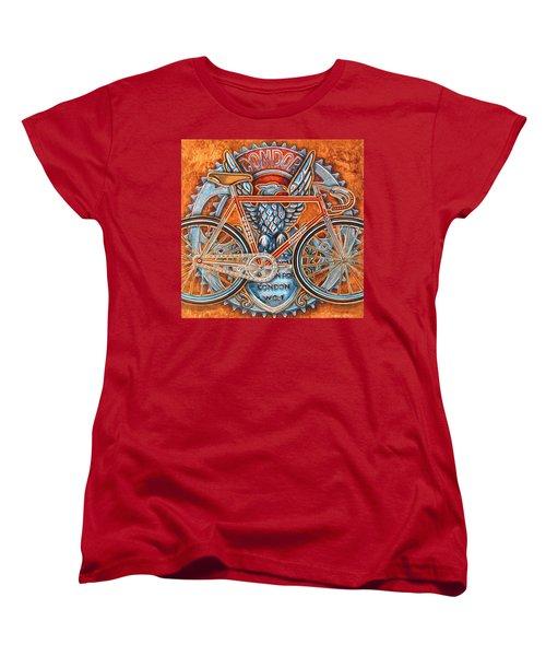 Women's T-Shirt (Standard Cut) featuring the painting Condor Fixed by Mark Howard Jones