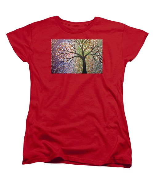 Women's T-Shirt (Standard Cut) featuring the painting Constellations by Amy Giacomelli
