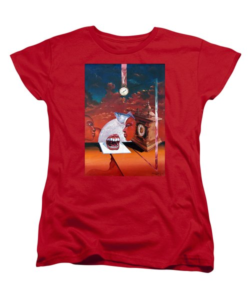 Consumption Of Time  Women's T-Shirt (Standard Cut) by Otto Rapp