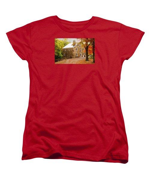 Cooper Gristmill Women's T-Shirt (Standard Cut) by Debra Fedchin