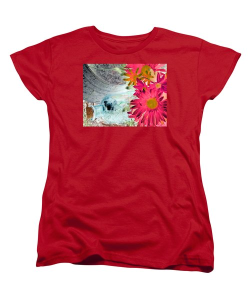 Country Summer - Photopower 1510 Women's T-Shirt (Standard Cut) by Pamela Critchlow