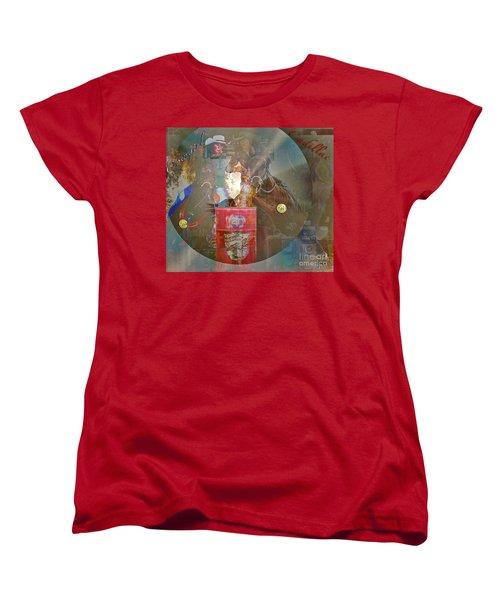 Cowgirl Cadillac Women's T-Shirt (Standard Cut)