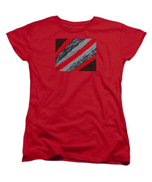 Cozy Afghan Women's T-Shirt (Standard Cut) by Donna  Manaraze