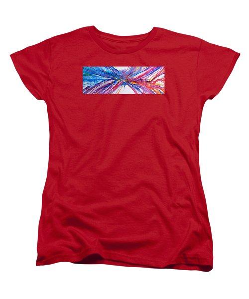 Crux Women's T-Shirt (Standard Cut) by Expressionistart studio Priscilla Batzell