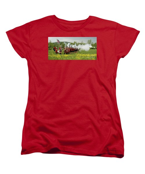 Women's T-Shirt (Standard Cut) featuring the photograph Culloden Loyalists by Carol Lynn Coronios