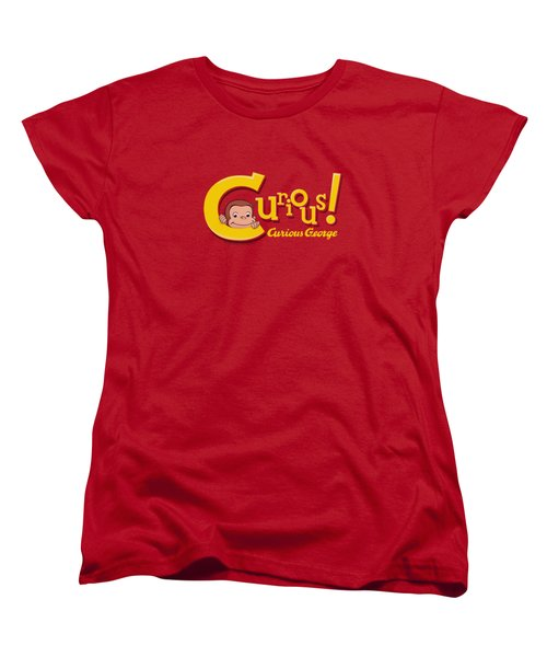 Curious George - Curious Women's T-Shirt (Standard Cut) by Brand A