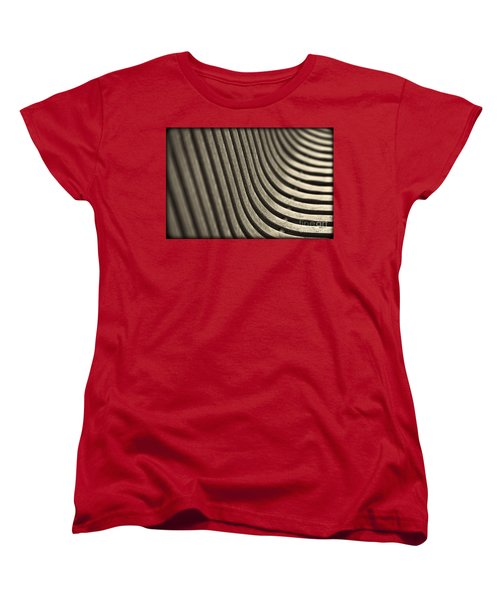 Women's T-Shirt (Standard Cut) featuring the photograph Curves I. by Clare Bambers