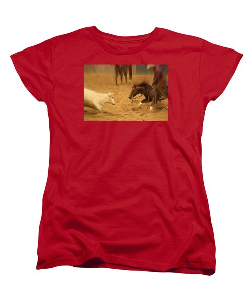 Cutting Horse 8 Women's T-Shirt (Standard Cut)