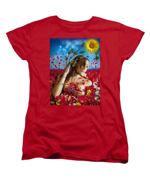 Dafne   Hit In The Physical But Hurt The Soul Women's T-Shirt (Standard Cut)