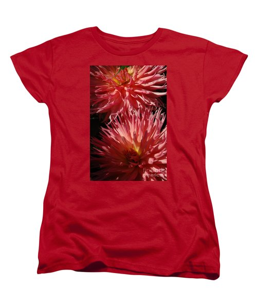Women's T-Shirt (Standard Cut) featuring the photograph Dahlia Vi by Christiane Hellner-OBrien