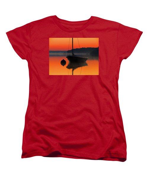 Women's T-Shirt (Standard Cut) featuring the photograph Dawn's Light by Dianne Cowen