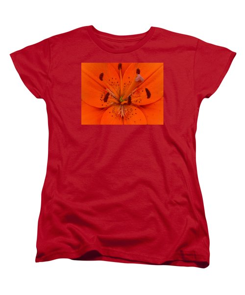 Daylily Heart Women's T-Shirt (Standard Cut)