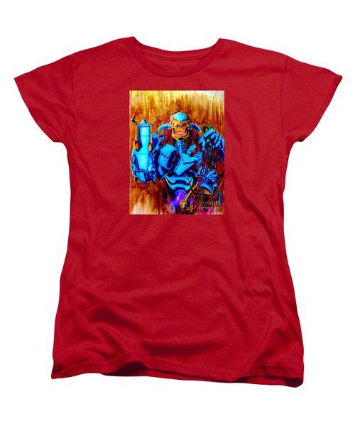 Death's Head II Women's T-Shirt (Standard Cut) by Justin Moore