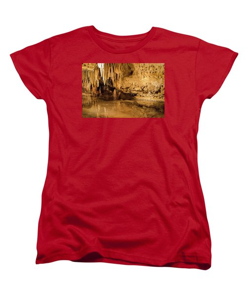 Deep In The Cave Women's T-Shirt (Standard Cut) by Jonah  Anderson