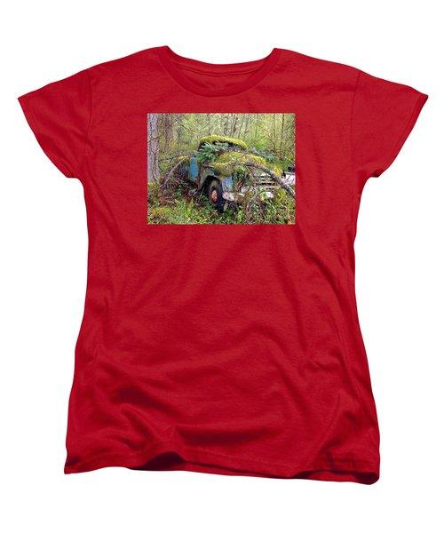 Derelict Women's T-Shirt (Standard Cut) by Sean Griffin