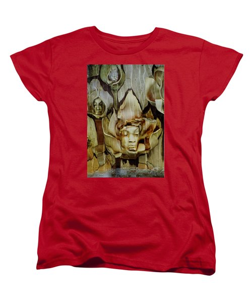 Distortion Women's T-Shirt (Standard Cut) by Penny Lisowski