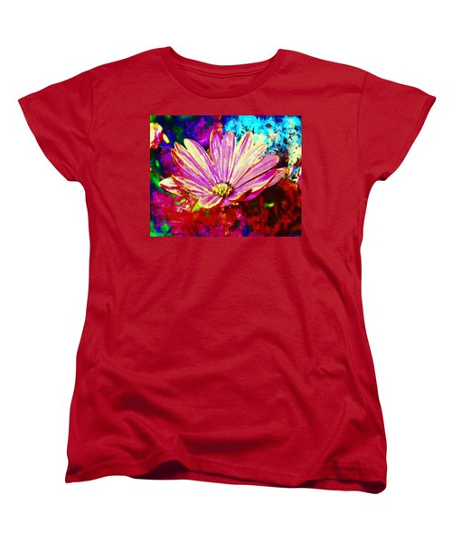 Women's T-Shirt (Standard Cut) featuring the painting Do It All Over Again by Joe Misrasi
