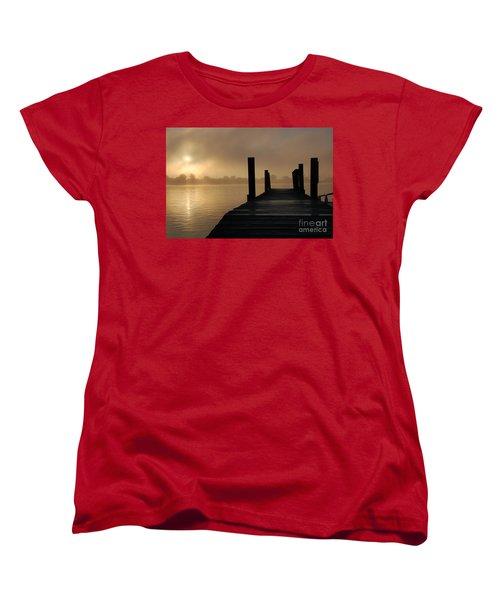 Dockside And A Good Morning Women's T-Shirt (Standard Cut)