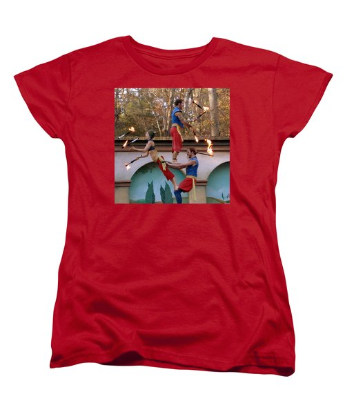 Don't Try This At Home Women's T-Shirt (Standard Cut)