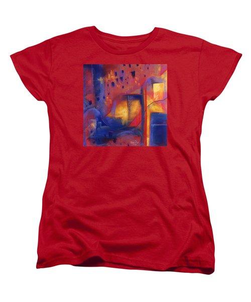 Doorways Women's T-Shirt (Standard Cut) by Susan Will