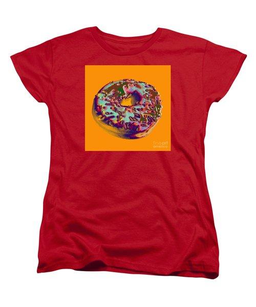Doughnut Women's T-Shirt (Standard Cut) by Jean luc Comperat